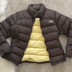 The North Face Jackets & Coats - Brown Northface winter coat